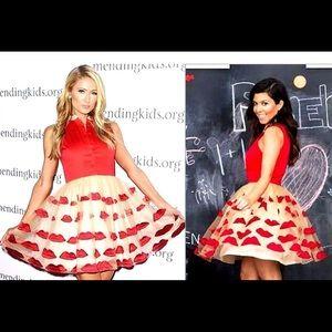 Chic Wish lips tulle valentine dress blogger 6